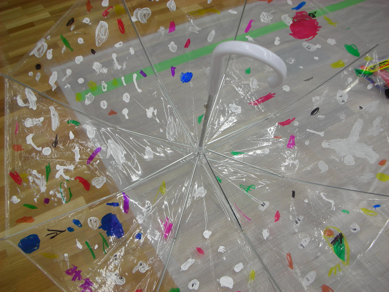 ビニール傘に