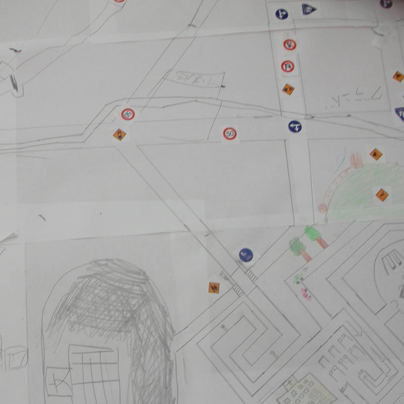 2008年5月18日(日)<br>「えんぴつで○○地図を作る」in東大