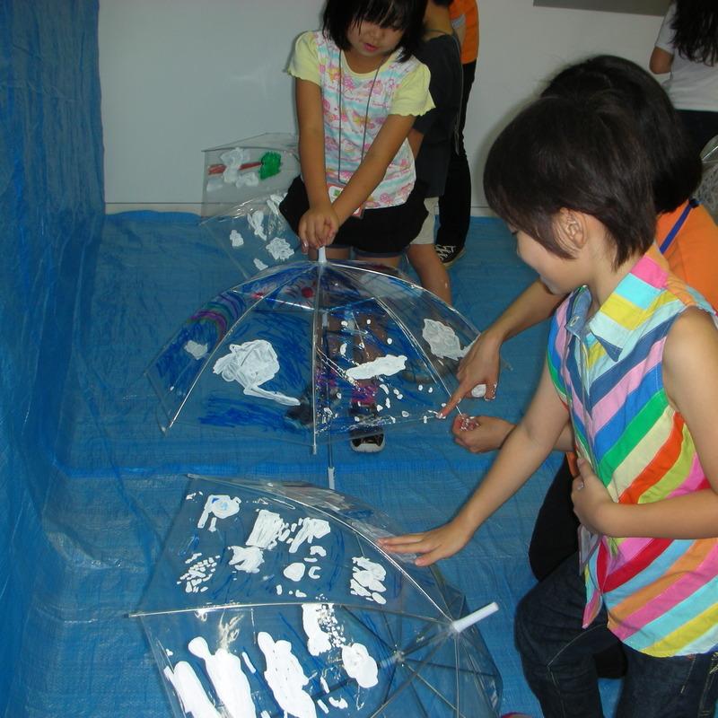 2008年6月15日(日)「ビニール傘に空を描く」in東大