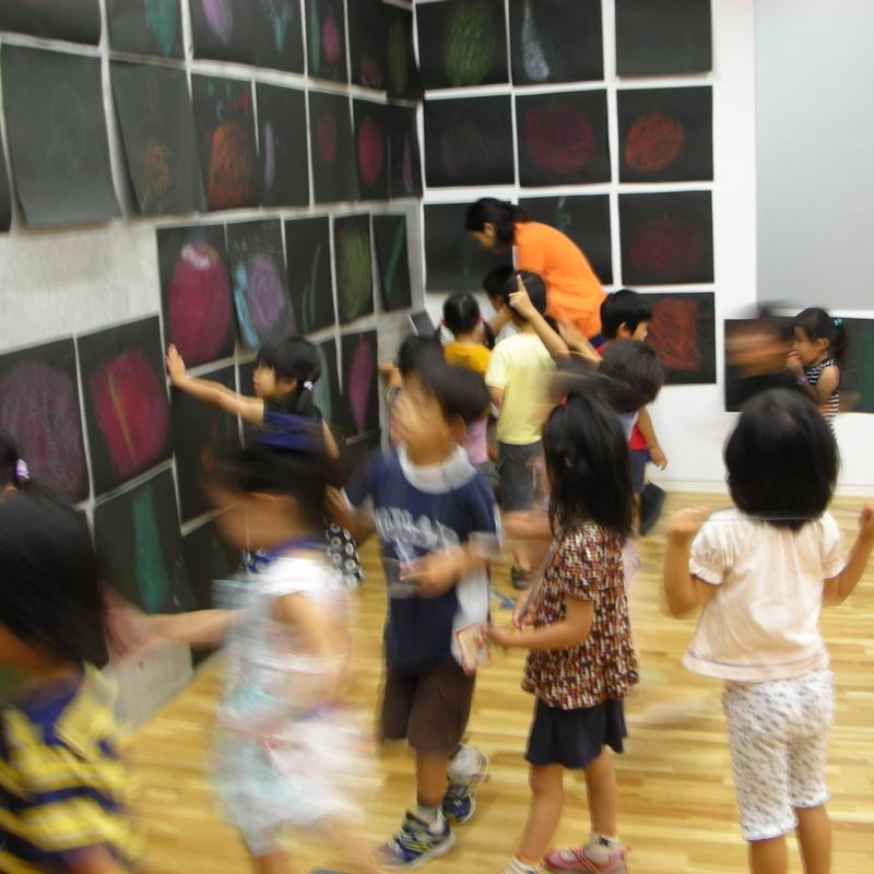 2008年7月20日(日)<br>「やさいをおおきくかく」in東大