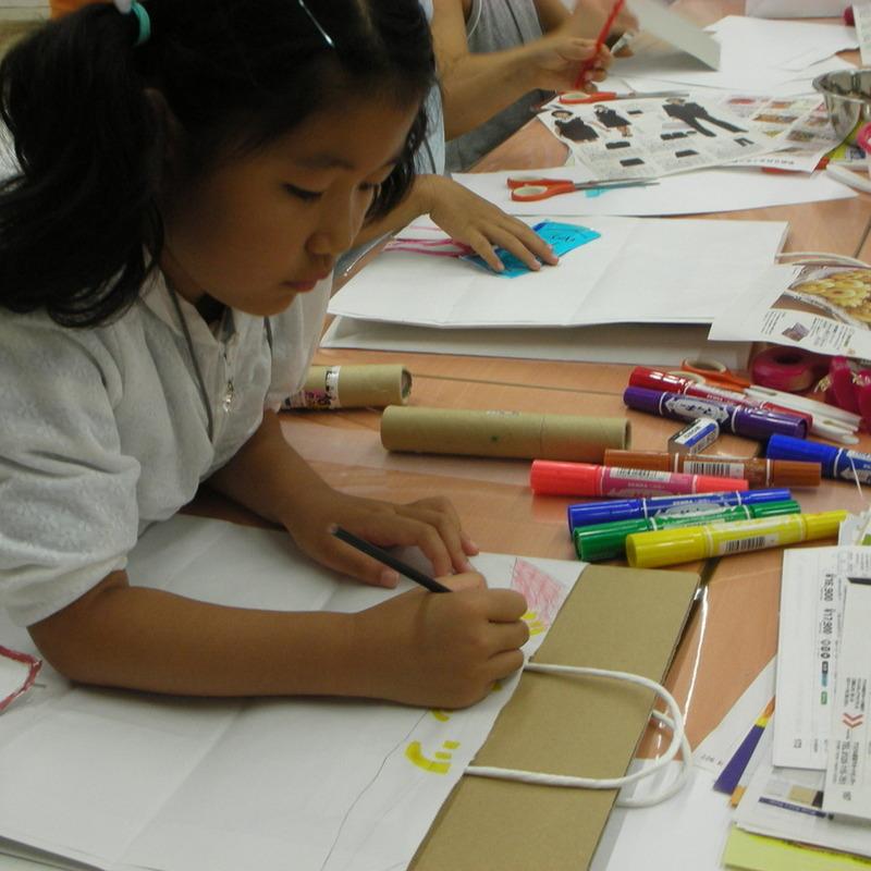 2008年8月17日(日)<br>「紙袋につくる」in東大