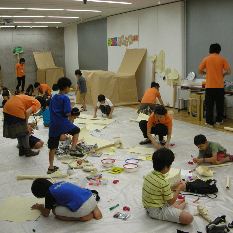 2008年9月21日(日)<br>「造形キャンプ」in東大