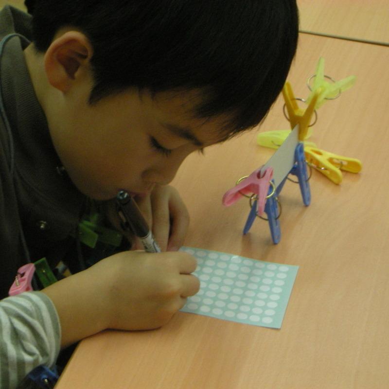 2008年11月16日(日)<br>「せんたくばさみの造形(中級)」in東大