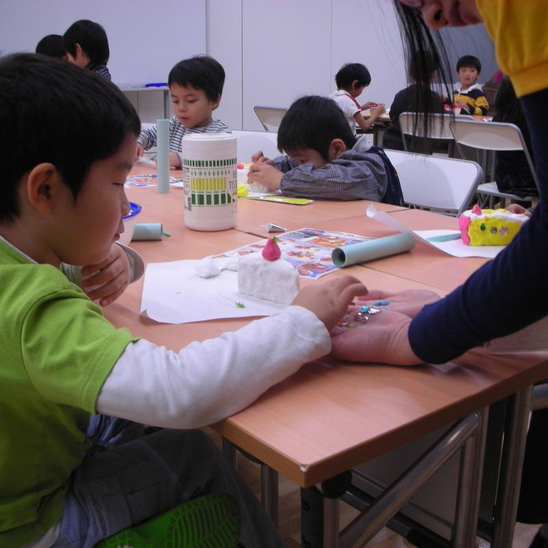 2008年12月21日(日)「造形クリスマスケーキ」in東大