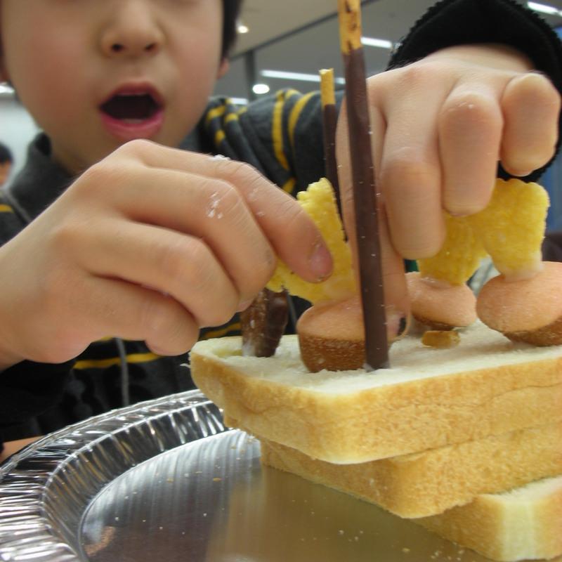 2009年3月15日(日)「お菓子の造形」in東大