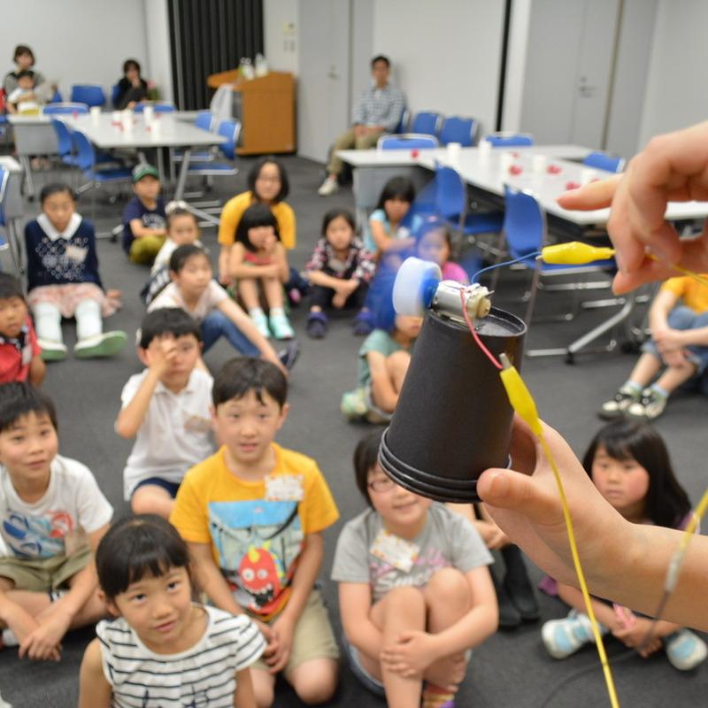2015年5月10日(日)「太陽をキャッチ!発電ソーラーボックス」(小学生クラス)in明治