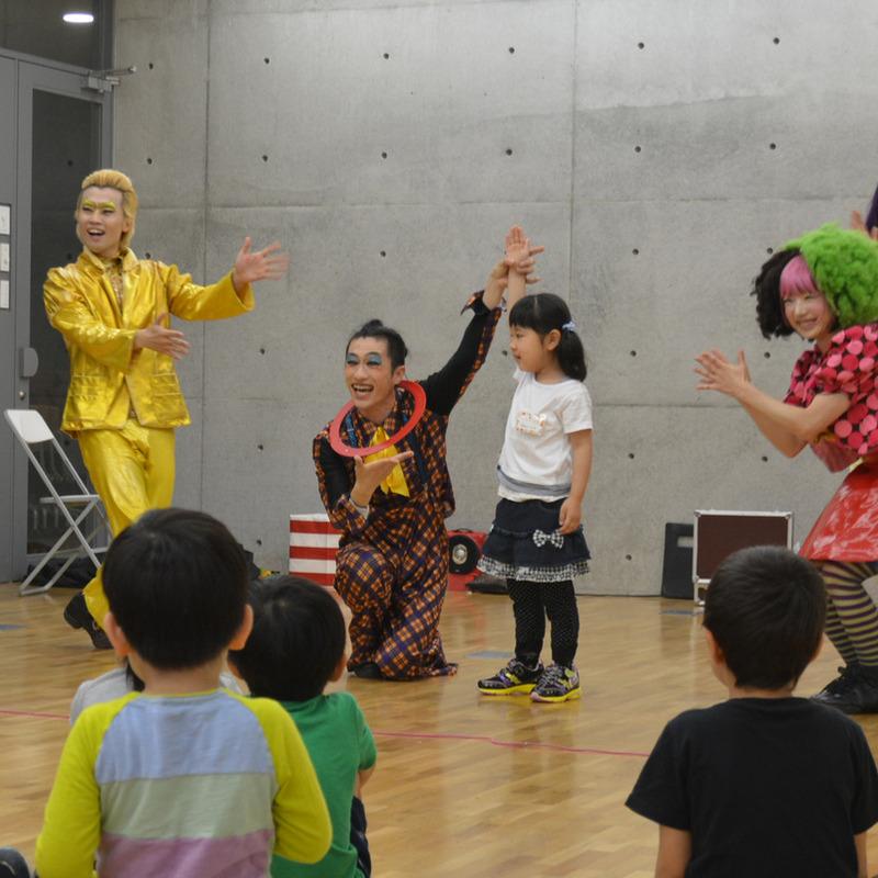 2015年5月17日(日)「からだで作ろうふしぎな世界」(幼児クラス)in東大