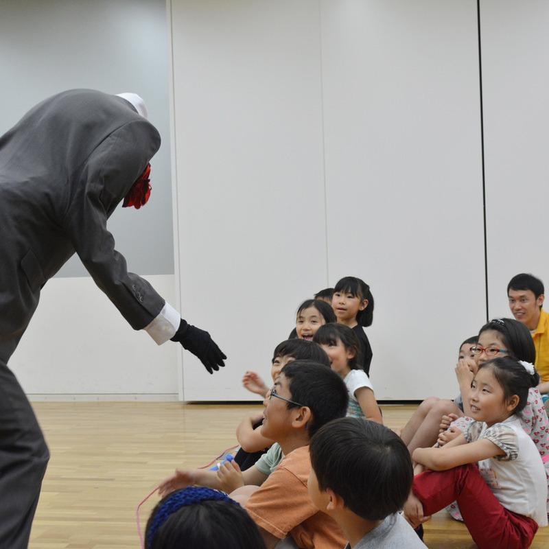 2015年5月17日(日)<br>「からだで作ろう不思議な世界」<br>(小学生クラス)in東大