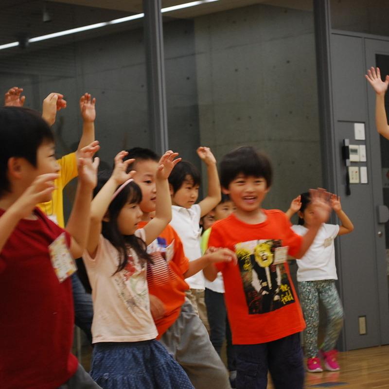 2015年6月21日(日)「め・みみ・こえ・からだでおとあそび」(幼児クラス)in東大