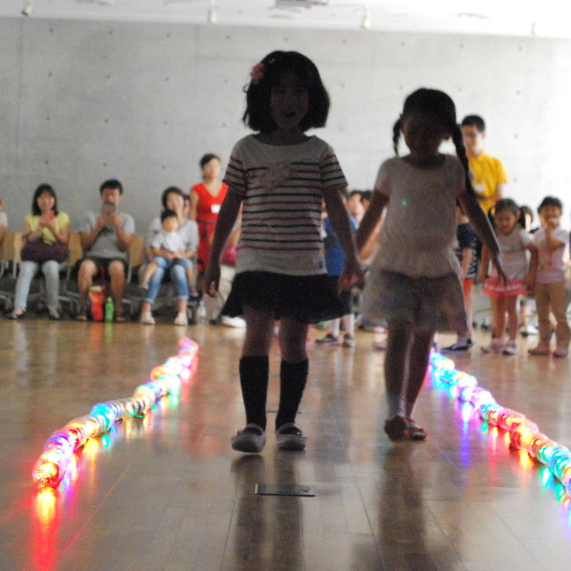 2015年7月19日(日)<br>「みんなでえがくひかりのおえかき」<br>(幼児クラス)in東大