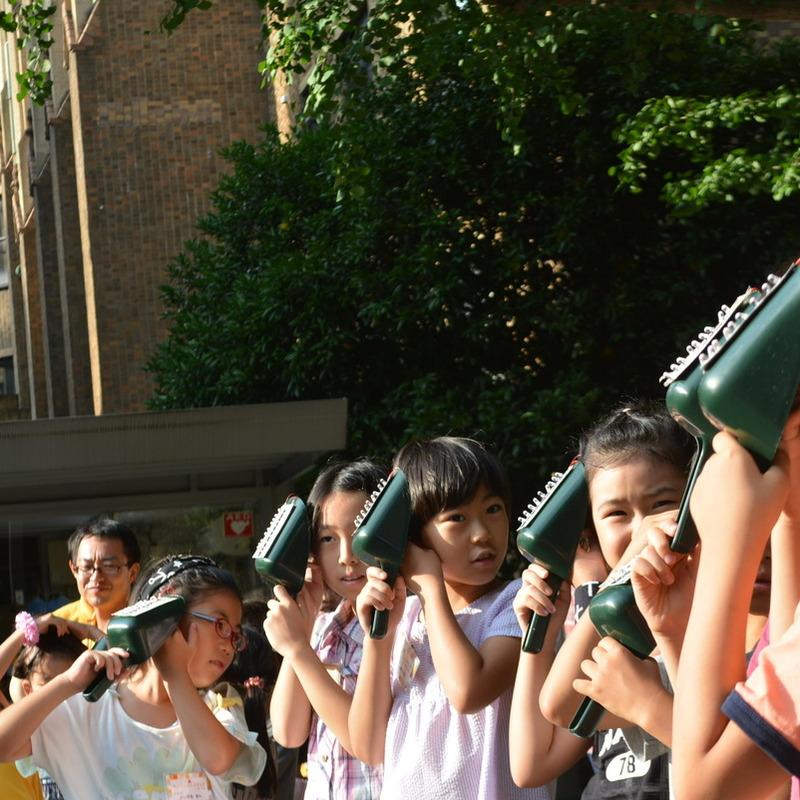 2015年8月16日(日)「太陽をキャッチ!発電ソーラーボックス」(小学生クラス)in東大