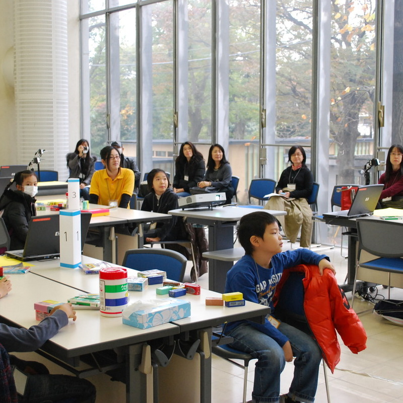 2009年11月22日(日)クレイアニメ1DAY講座in東大駒場