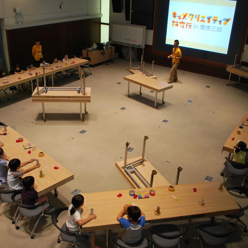 2010年6月27日(日)「セロハンテープで空間つくり」(幼児クラス)in慶應三田