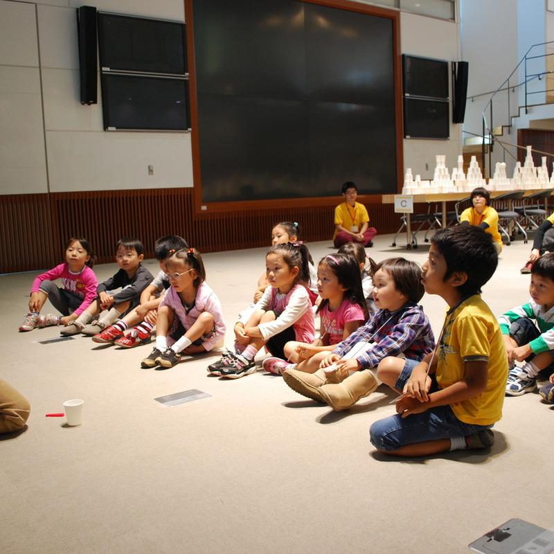 2010年9月26日(日)「2500個の紙コップ造形」(幼児クラス)in慶應三田
