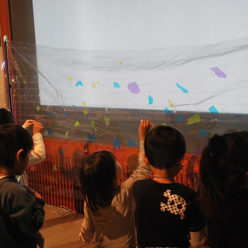 2010年12月26日(日)<br>「光と影の造形」<br>(幼児クラス)in慶應三田