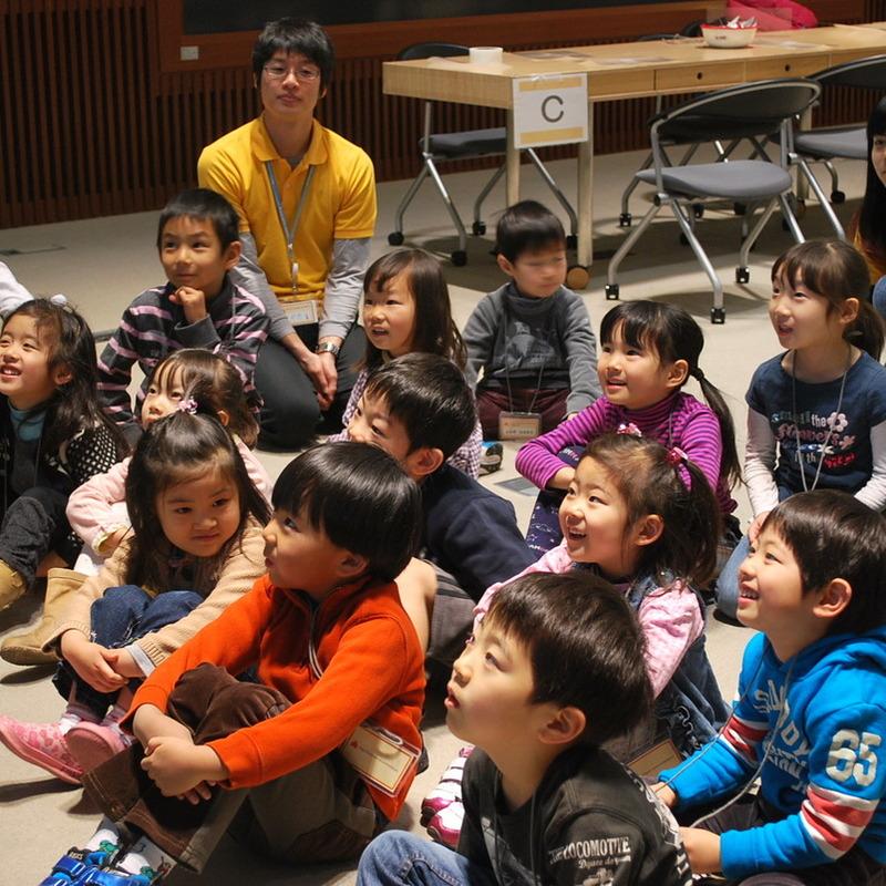 2011年1月23日(日)<br>「モンスターになってみる」<br>(幼児クラス)in慶應三田
