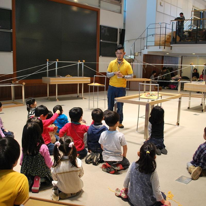 2011年3月27日(日)「ぶらさがりの造形」(幼児クラス)in慶應三田