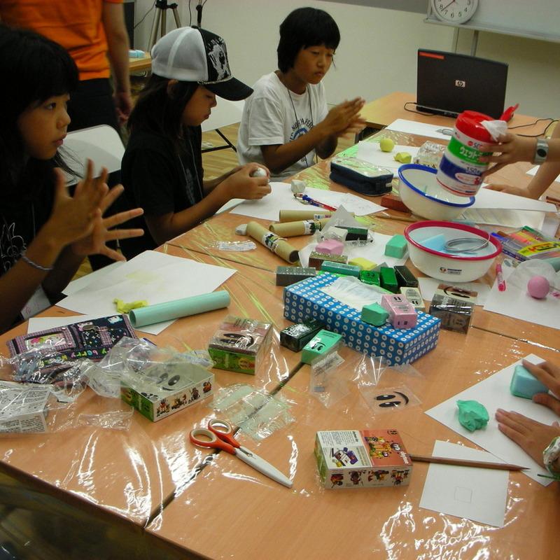 サマーキャンプ2008<br> クレイアニメ講座in東大本郷<br>2008年8月4日(月)~8月6日(水)