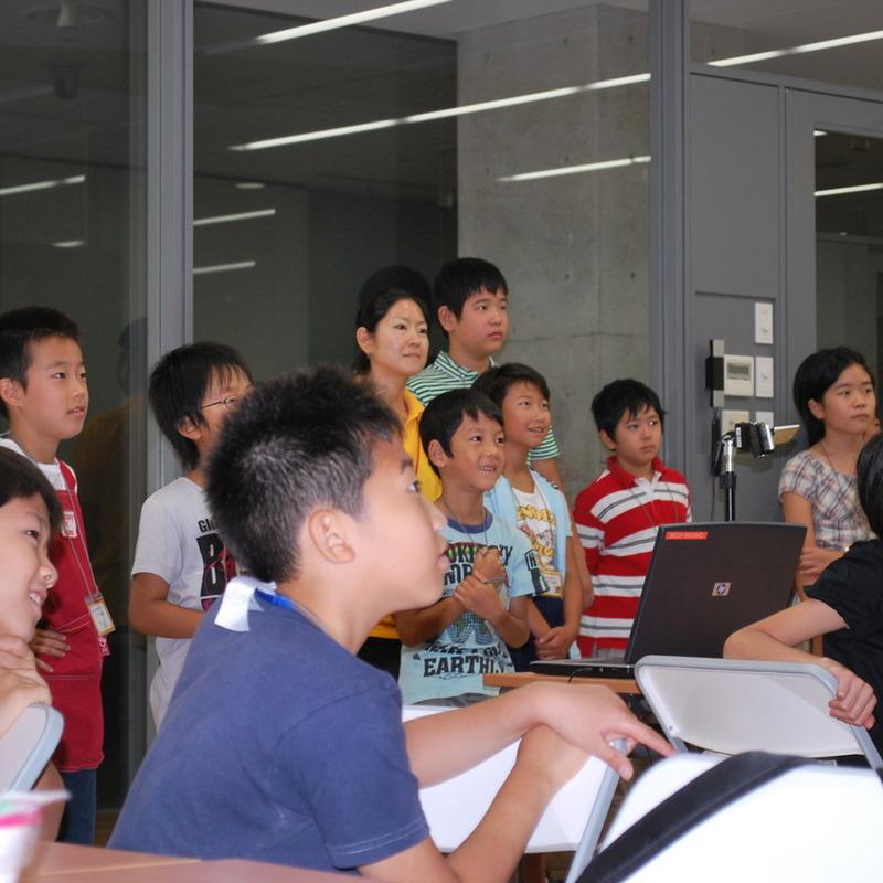 サマーキャンプ2009 クレイアニメ講座in東大本郷2009年8月17日(月)~8月19日(水)