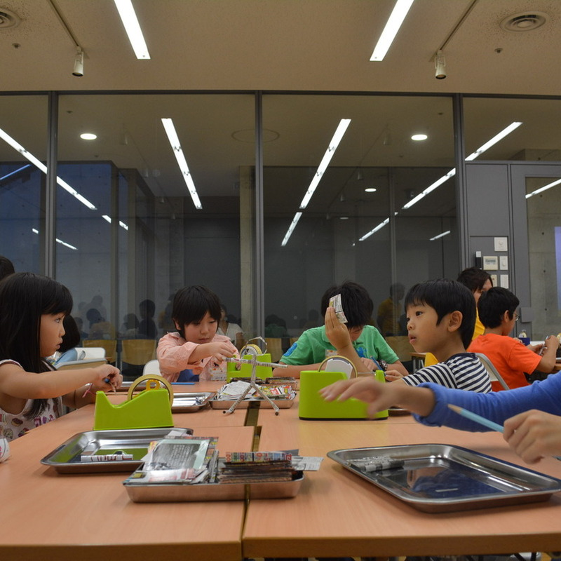 2015年9月20日(日)<br>「文字スティックの棒人間と、、?」<br>(小学生クラス)in東大