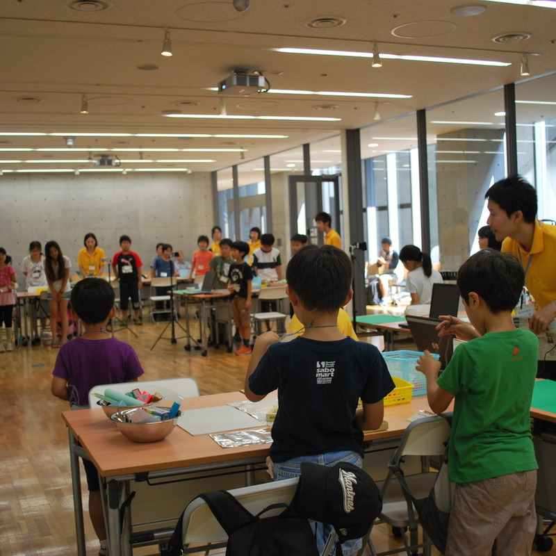 サマーキャンプ2011 クレイアニメ講座in東大本郷2011年8月18日(木)~8月20日(土)