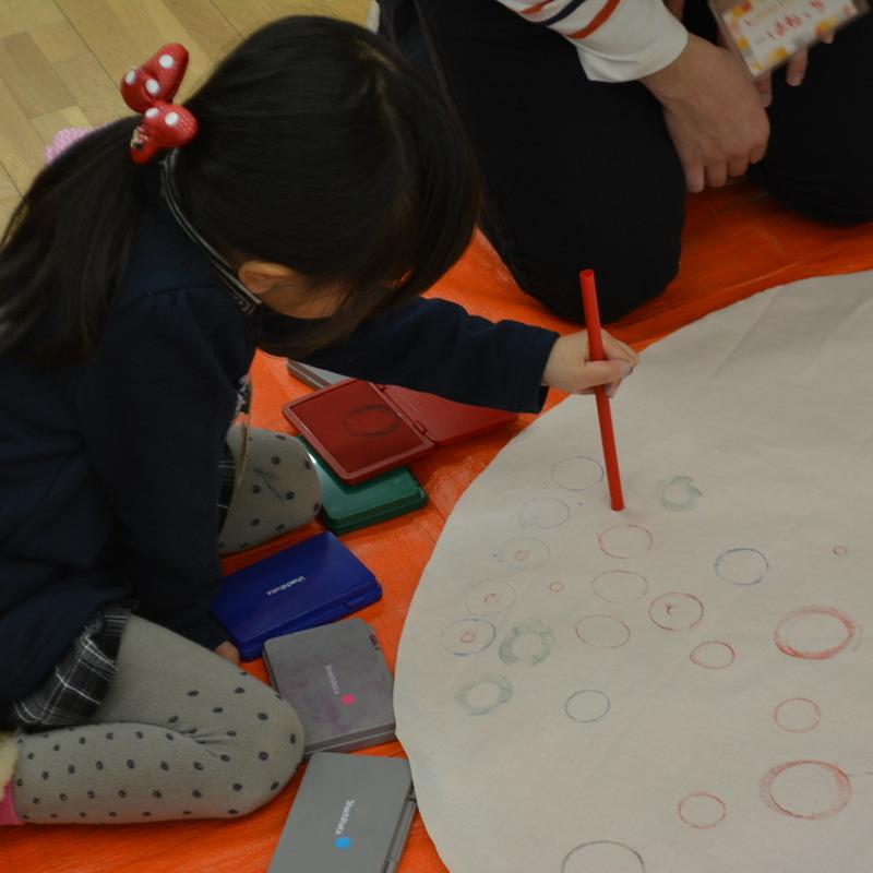 2015年12月20日(日)「もようときもちを身につける」(幼児クラス)in東大