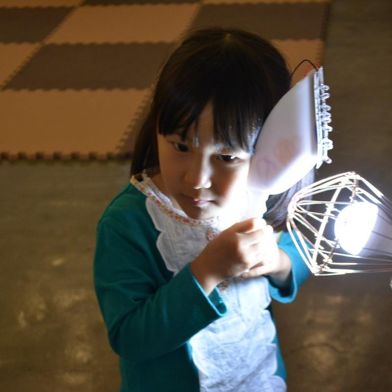 2015年5月24日(日)<br>「たいようをキャッチ!はつでんソーラーボックス」<br>(幼児クラス)in代官山