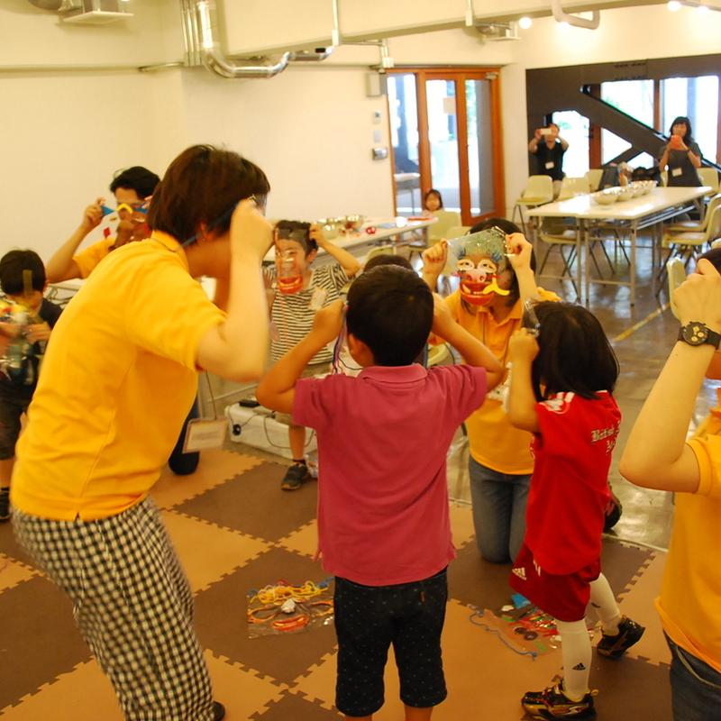 2015年6月28日(日)<br>「きせかえ変身ショー」<br>(幼児クラス)in代官山