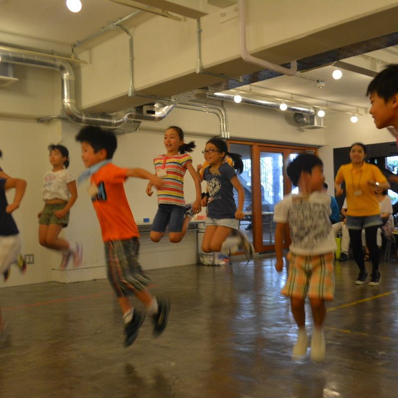2015年7月26日(日)「空飛ぶ!?ストップモーション」(小学生クラス)in代官山