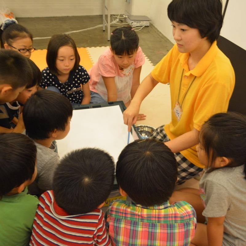2015年8月23日(日)<br>「さわるサウンド -こする・なでる・さする-」<br>(小学生クラス)in代官山
