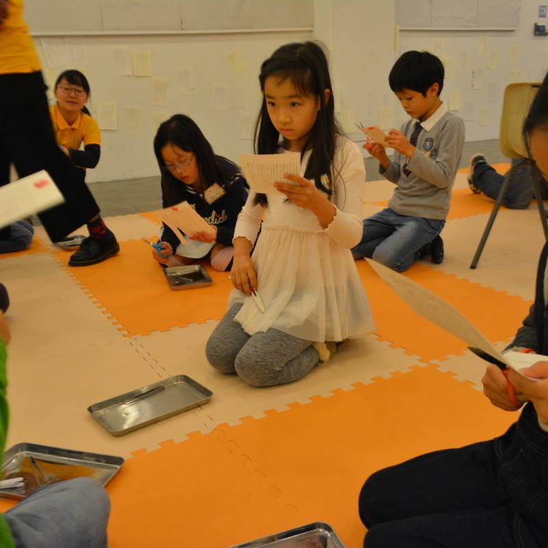 2015年11月22日(日)<br>「新明解じぶん語辞典」<br>(小学生クラス)in代官山
