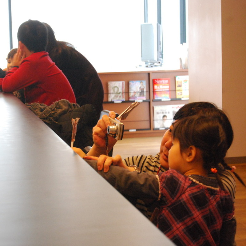 2015年2月8日(日)「もしもでつくる不思議なえほん」(幼児クラス)in渋谷