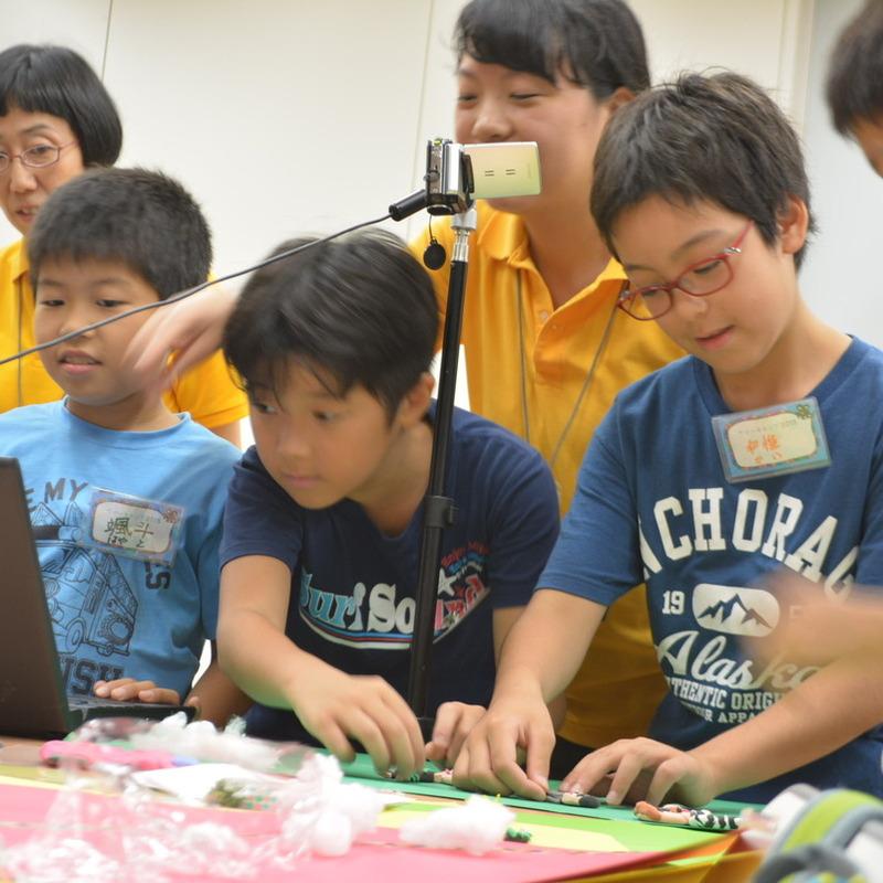 サマーキャンプ2015 クレイアニメマスター講座in東大本郷2015年8月17日(月)~8月19日(水)