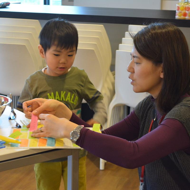 2015年3月8日(日)「ペタペタおしゃべりくうかん」(幼児クラス)in渋谷