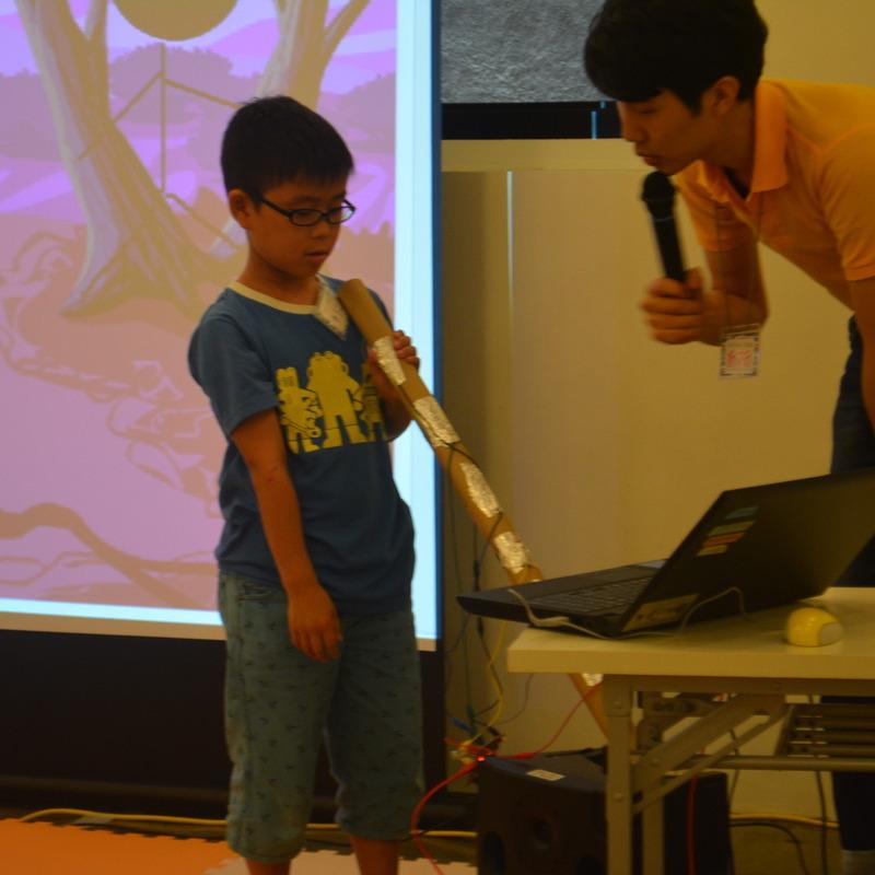 サマーキャンプ2015<br> プログラミング講座in代官山「オリジナル楽器をつくってみよう!」<br>2015年8月4日(火)~8月5日(水)