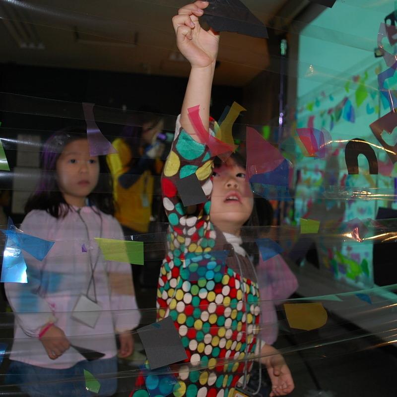 2010年2月7日(日)「ヒカリでつくる」(幼児クラス)in早稲田