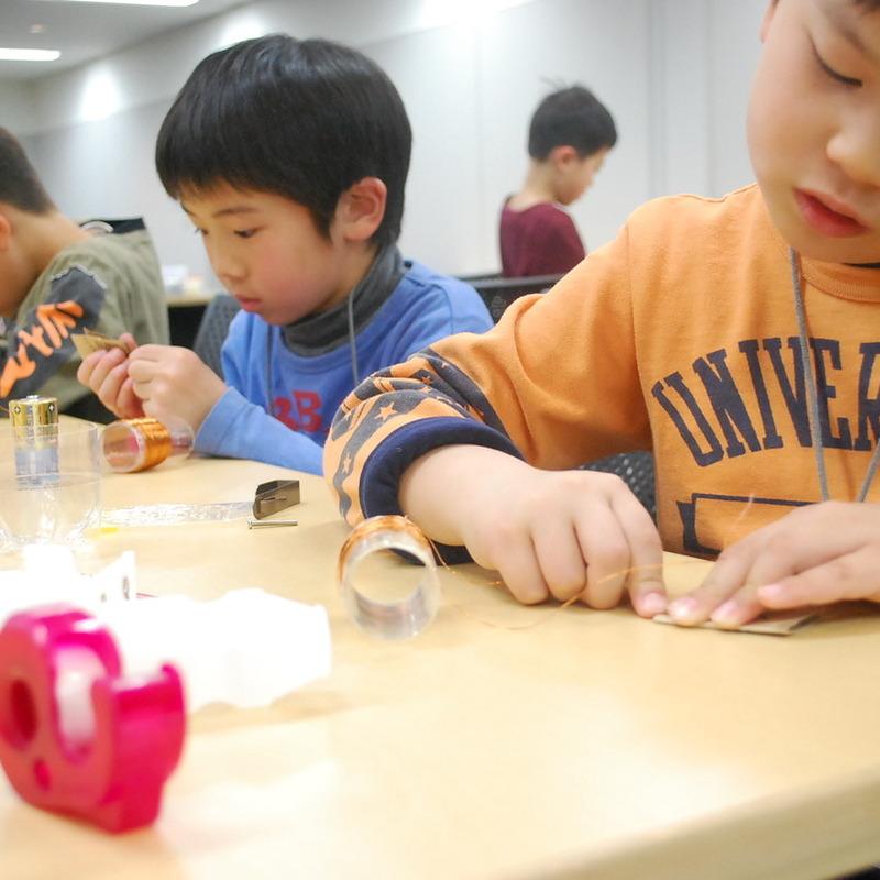 2010年1月31日(土)「磁石の不思議」(小学生クラス)in慶應日吉