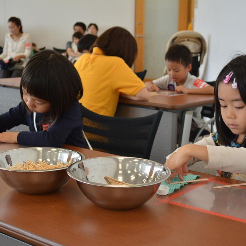 2014年10月12日(日)<br> 「マッチ棒のはしご」<br>(幼児クラス)in六本木