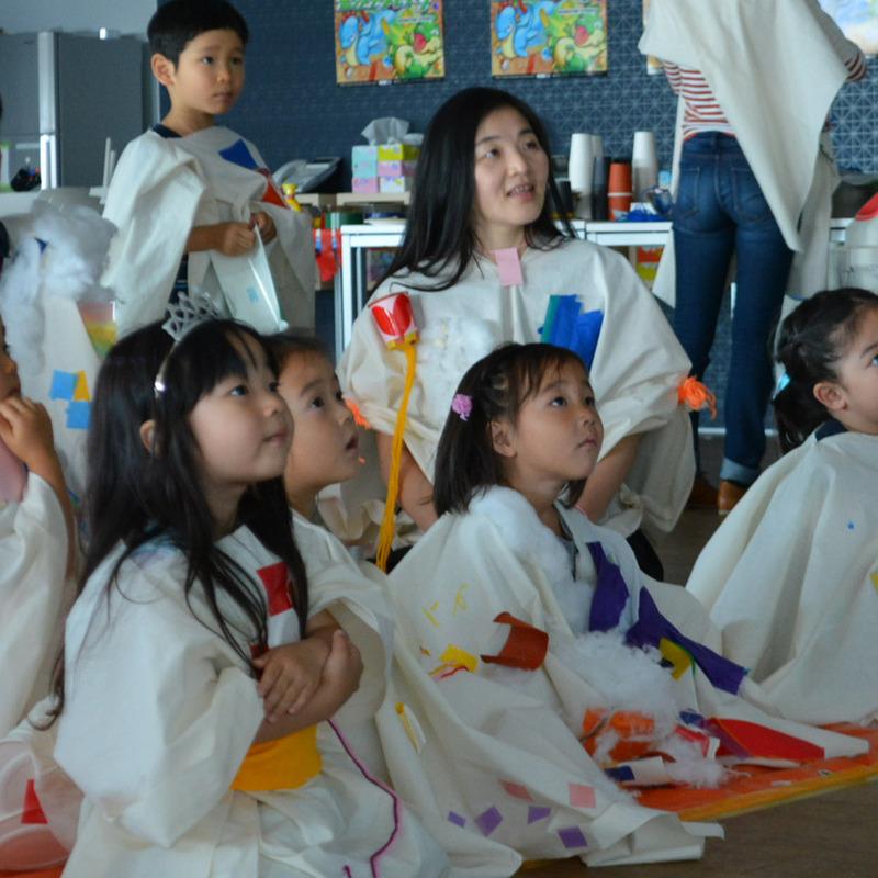 2015年6月7日(日)<br>「おおきなふくをつくる」<br>(幼児クラス)in渋谷