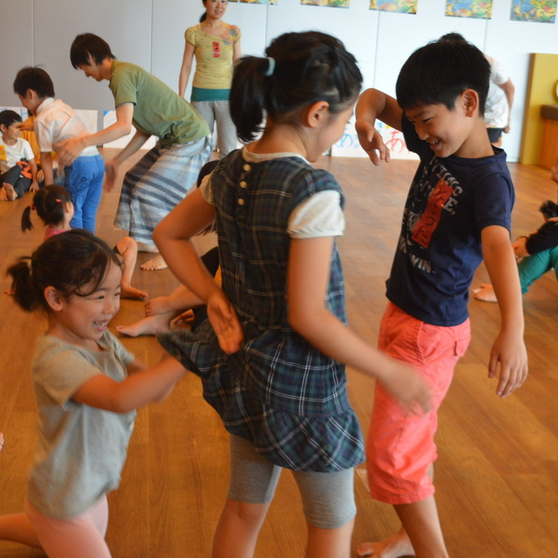2015年7月5日(日)<br>「名前でおどろう!」<br>(幼児クラス)in渋谷