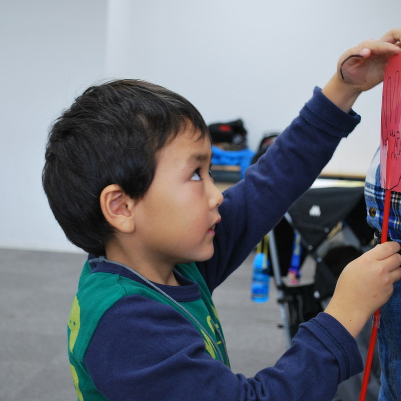 2010年11月7日(日)「セカイをはかる」(幼児クラス)in慶應日吉