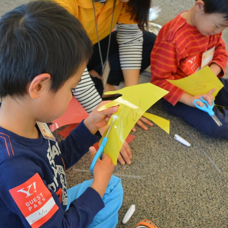 2015年1月11日(日) 「セカイをはかる」(幼児クラス)in六本木