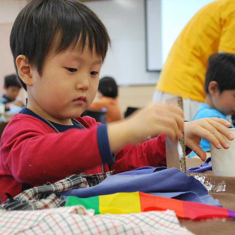 2010年12月5日(日)「みの虫マントで大変身!」(幼児クラス)in慶應日吉