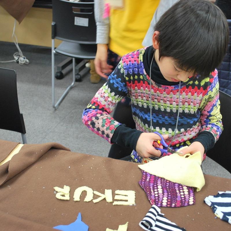 2010年12月5日(日)「みの虫たちの冬じたく」(小学生クラス)in慶應日吉