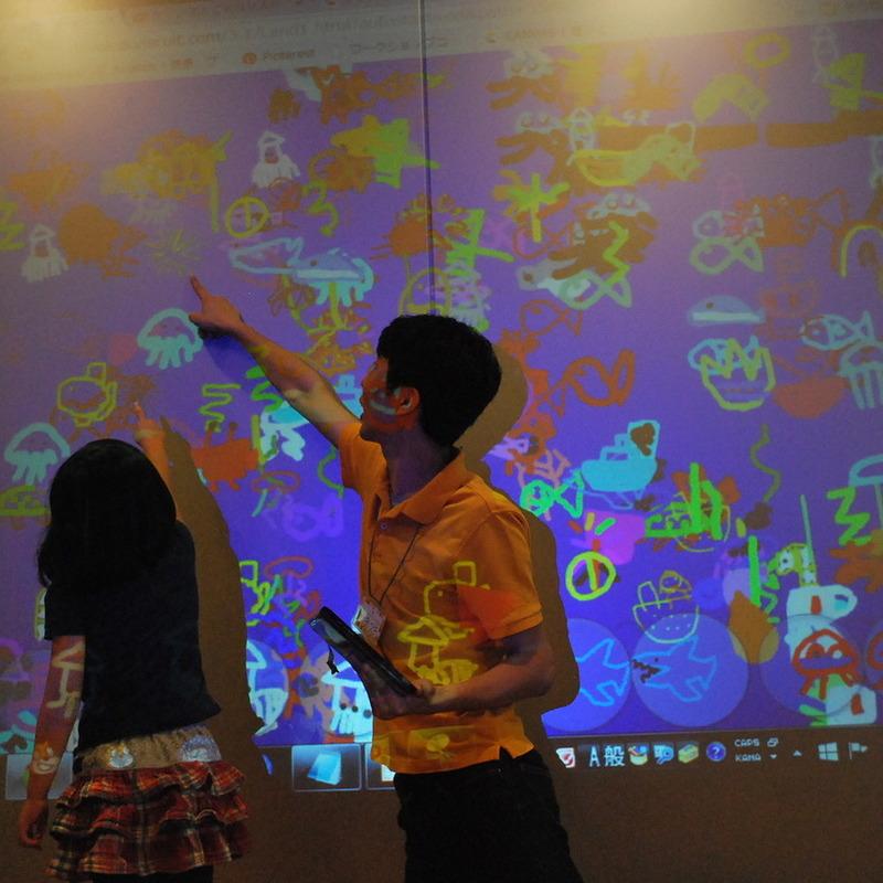 2015年9月6日(日)<br>「おえかきプログラミング」<br>(幼児クラス)in渋谷