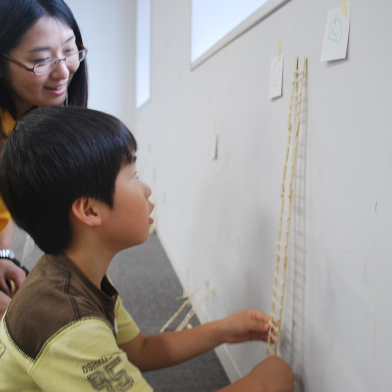 2011年6月26日(日)「マッチ棒のはしご」(幼児クラス)in慶應日吉