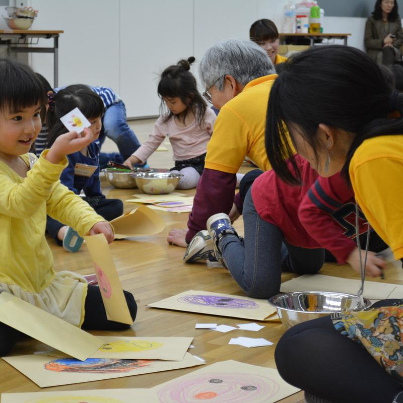 2014年4月20日(日)「ふうとうの中のふうとうの中に」(幼児クラス)in東大