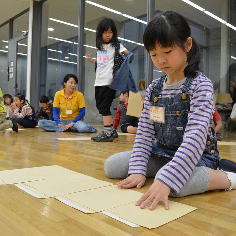 2014年4月20日(日)<br>「封筒のマトリョーシカ」<br>(小学生クラス)in東大