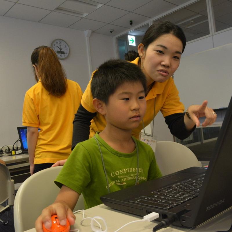 2014年7月6日(日)<br>プログラミングラボinオチャノミズ