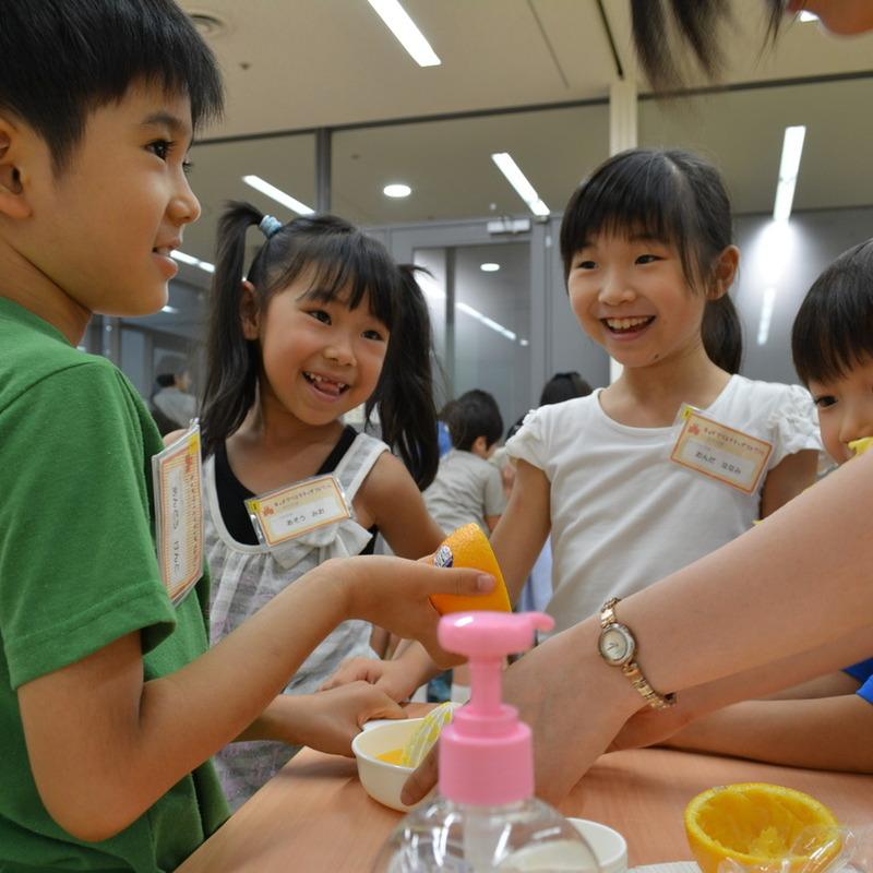 2014年7月20日(日)<br>「くらべて味わう!ジュースのひみつ」<br>(小学生クラス)in東大